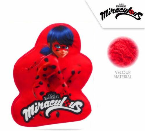 Miraculous Ladybug  Kuschelkissen Formkissen mit Motiv 35 cm Neu /& OVP