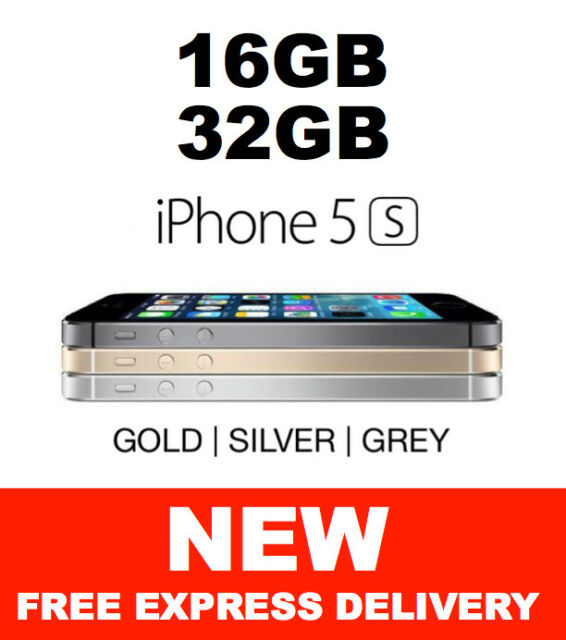 NEW iPhone 5s 16GB 32GB 4G LTE 100% Genuine 100% Factory Unlocked from Melbourne