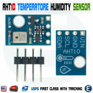 I2C Interface AHT10 High Precision Temperature Humidity Sensor