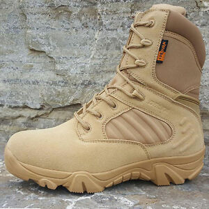 Image is loading DELTA-511-Military-Tactical-Ankle-Boots-Cordura-Desert- 466112a17