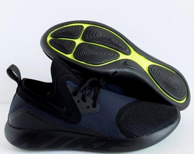 Nike lunarcharge essenziale nero pennino buio ossidiana volt sz 10,5 pennino nero nuova 5e5bb7