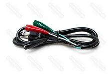 Ma Line Ma 32832 Male Test Cord With Alligator Clips 16 Awg X 6