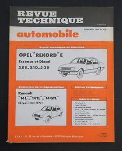 REVUE-TECHNIQUE-AUTOMOBILE-RTA-APEL-REKORD-RENAULT-14-n-402