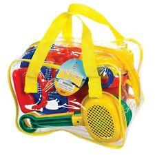 Toysmith Beach Gear, Beach Sand Toys Set, Multi-Color For Ages 3+ Kids, 2418 New