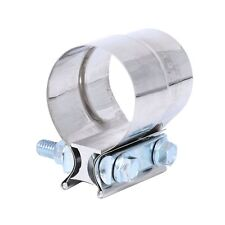 """3"""" Stainless Steel Exhaust Band Clamp Step Clamps for Catback Muffler Downpipe"""