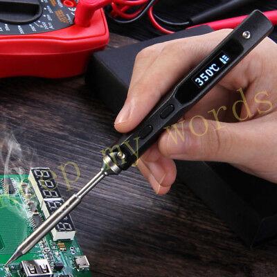 TS100 Mini Portable Digital OLED Tool Soldering Iron DC 12v-24v Interface DC5525