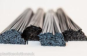 black flat strips pack of 30 pcs PP  Plastic welding rods 6mm
