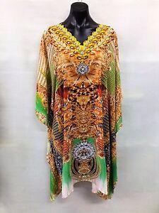 Sheer-Chiffon-Poly-Embellished-Kaftan-Digital-Printed-Size-14-16-18-20-22-24