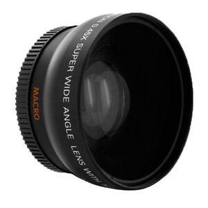 Pro HD 0.45x 72mm Wide-Angle Conversion Lens for Canon Nikon DSLR Cameras