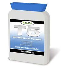 T5 ADVANCED FAT BURNERS CAPSULES STRONG LEGAL DIET SLIIMING PILLS 30 BOTTLE