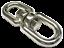 16mm STAINLESS STEEL MARINE SWIVEL EYE EYE boat yacht chain rope deck