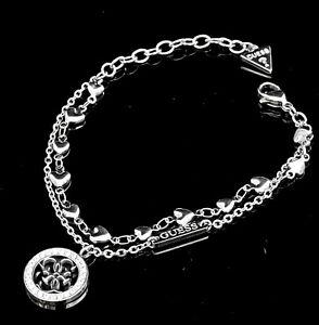 Guess UBB78025  Armband IP Silber Kristall neu