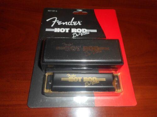 NEW - Genuine Fender Hot Rod Deville Harmonica, Key of G, 099-0707-002