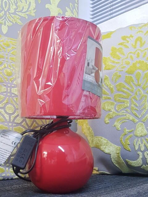NEW Top Quality Verona Table Lamp - Red - ONLY £9.99 and FREE P&P
