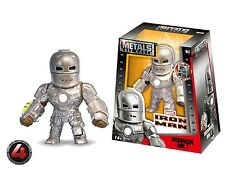 "JADA 4"" DIE-CAST METAL - IRON MAN - IRONMAN MK I Action Figures 97714"