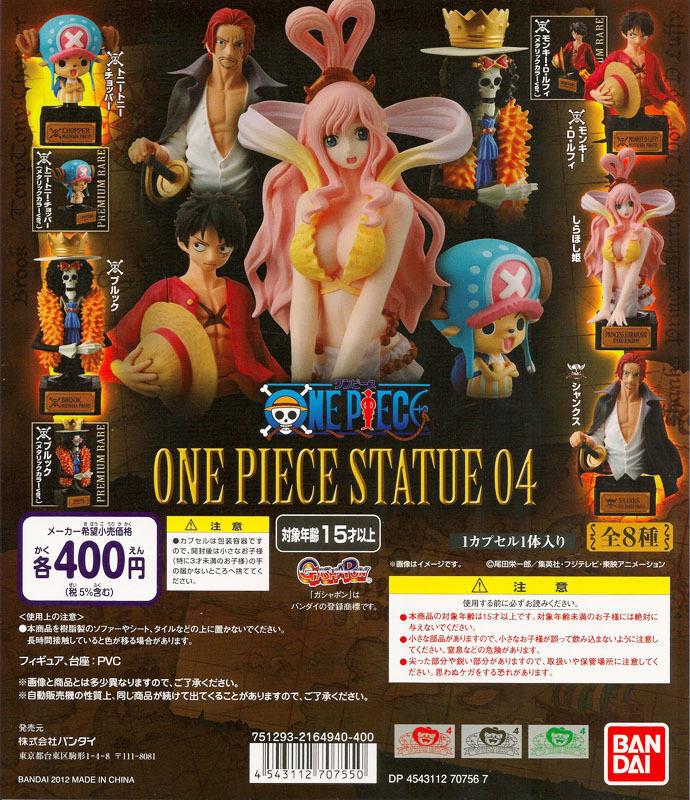 Bandai One Piece the new world Appendix Statue Bust 04 Part 4 Figure