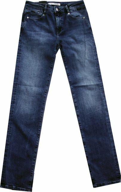 Mavi High Waist Damen Jeans deep brushed glam  DARIA 100837