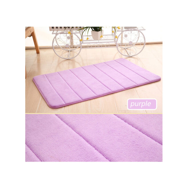 Memory Foam Non-slip Bath Shower Carpet Pad Bathroom Mats Shower Mat Bedroom Rug