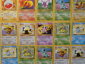 pokemon jungle set rare non holo cards cheap prices ebay