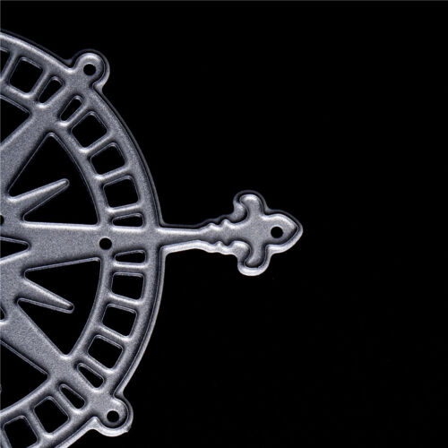 1 stück wilde kompass Metall Stanzformen Schablone Scrapbooking Fotoalbum TAB X0
