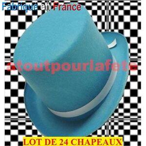 LOT-DE-24-Chapeaux-Haut-de-Forme-Rocambole-Cabaret-Accessoire-Deguisement