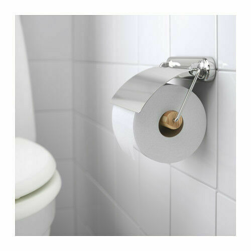 Ikea Voxnan Toilet Roll Holder Chrome