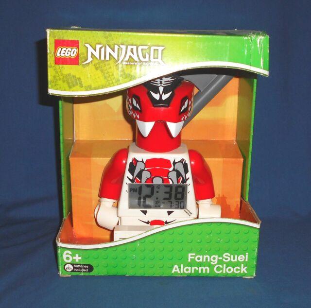 LEGO Ninjago Fang-Suei (9005251) Digital Alarm Clock Mini-Figure NEW NIB HTF OOP