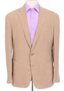 eb494c2a6e2c Ralph Lauren Black Label Daniel 44R Slim Fit Tan Linen Blazer ...