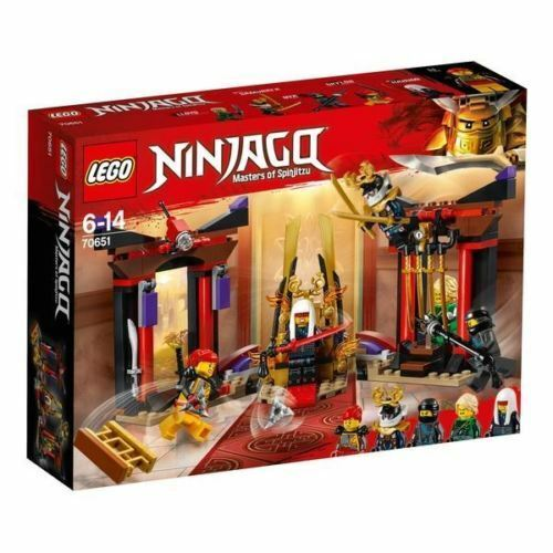 LEGO 70651 Ninjago Throne Room Showdown Construction Toy