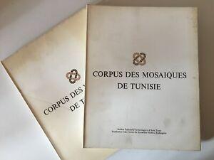 Corpus Las Mosaiques Túnez Instituto Nacional De Arqueología 2/3 Tunis 1973
