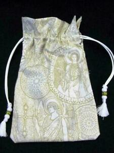 Renaissance-Gothic-Angels-Tarot-Card-Drawstring-Mojo-Bag-Cotton-Pouch-FREE-SHIP