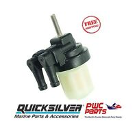 Quicksilver Inline Fuel Filter 35-879884t 25 30 40 40/50/60 Efi 4-s Outboards
