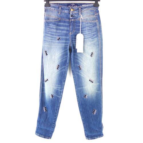 CLOSED Jeans Hose JUPE BY JACKIE Gr W25 Blau Denim High Waist Damen NP 289 NEU