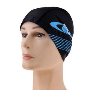d0b1760382527 Swimming Long Short Hair Cap Waterproof Swim Hat For Women Men
