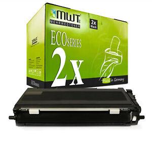 2x-MWT-Eco-Cartouche-XXL-Compatible-Pour-Brother-hl-2250-dnr-dcp-7065-dn