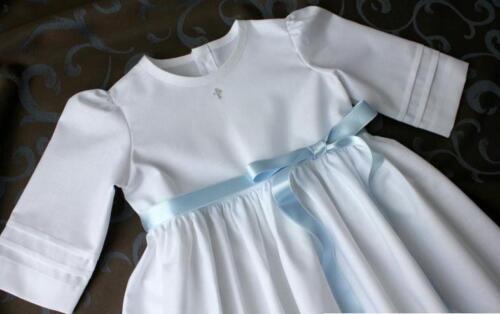 Taufkleid  Baby SWAROVSKI schlicht Junge Mädchen  56-62-68-74-80-86