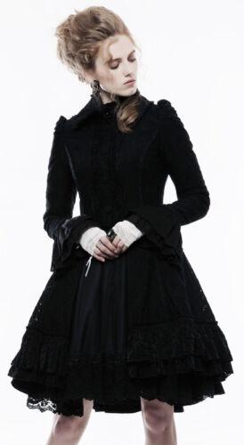 Volants Baroque Gothique Veste Brillant Noeud Manteau Punkrave Lolita Dentelle wY1SIS