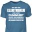 T-Shirt-Elektriker-Dummheit-Lustig-Geschenk-Spruch-Handwerker-Baustelle Indexbild 11