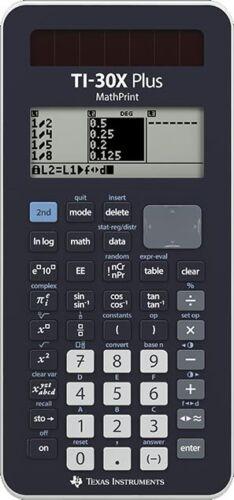 Texas Instruments Ti 30 X Plus Mathprint Multiview Schulrechner NEU OVP