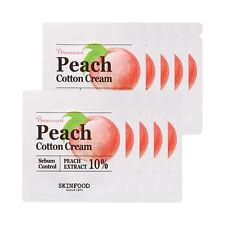 SKINFOOD Premium Peach Cotton Cream Samples - 10pcs