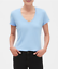 Banana-Republic-Women-039-s-Timeless-Short-Sleeve-V-Neck-Premium-Wash-Tee-T-Shirt thumbnail 15