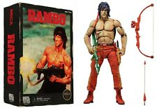 "Classic 1988 Video Game Appearance RAMBO 7"" Action Figure NECA Nintendo NES"