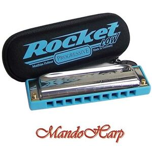 Hohner-Harmonica-2016-20-Rocket-Low-SELECT-KEY-NEW