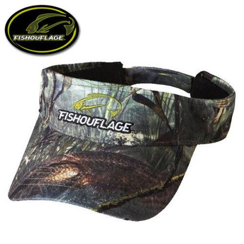 NEW! OSFM Fishouflage Carp Fish Camo Fishing Visor Hat