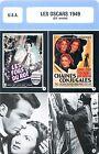 FICHE CINEMA USA LES OSCARS 1949 (22-e année)