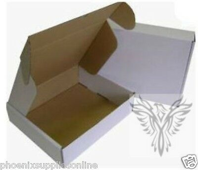 Cardboard Postal Boxes White, for Royal Mail Small Parcel max size 45 x 35 x 8cm