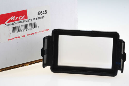 METZ 5645 OMNI-BOUNCE FOR 45 CT AND CL SERIES HASSELBLAD 4504 FLASHES NEW.