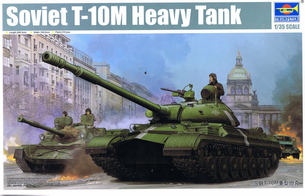 Trumpeter 1 35 Soviet T-10M Heavy Tank Plastic Model Kit