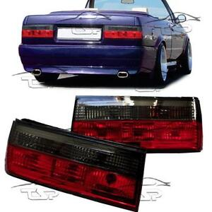 Details About Rear Tail Light Red Smoke For Bmw E30 Cabrio Saloon Touring 87 94 Series 3