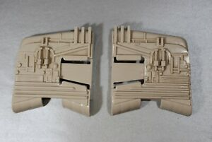 VINTAGE-STAR-WARS-SLAVE-1-PART-WING-SET-KENNER-one-right-left-wing-fin-fins